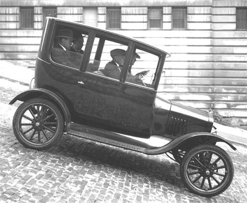 The 1921 Ford Model T Automobiles