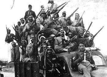 Guerra civil durante el Mandato de Palestina, la enciclopedia libre
