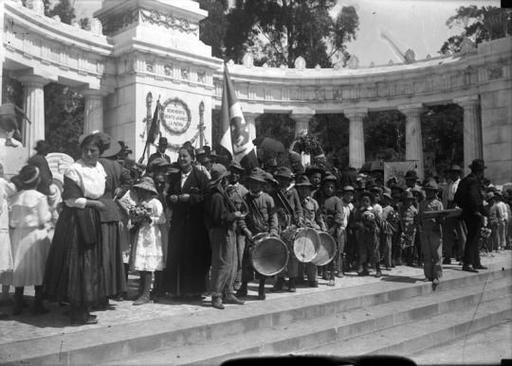 México 1920 - 1924, Florido y Espinudo -