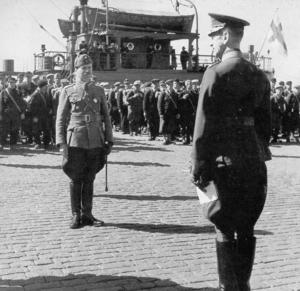 Hungarian volunteers in the Winter War