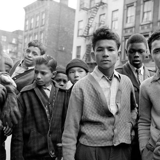 Teenage Boys. Spanish Harlem, New York, 1940s. by Sonia Handelman Meyer | Latinidad |  ...