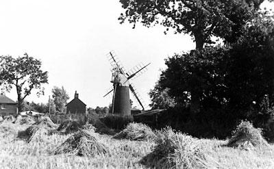 Norfolk Mills - Stalham tower windmill