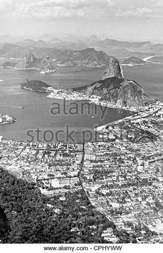 Janeiro Black and White Stock Photos & Images -