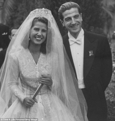 The Duchess of Alba on her 1947 wedding day. She was a very interesting lady to say the lea ...