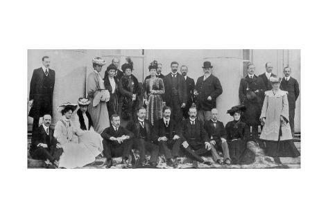 King Edward VII on a Royal Visit to Ireland, 1902-1905 Giclee Print at AllPosters