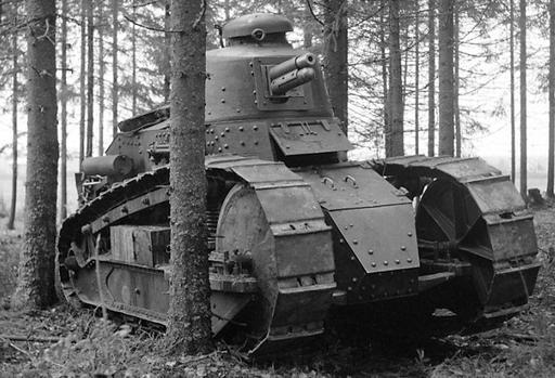 Finnish Renault FT