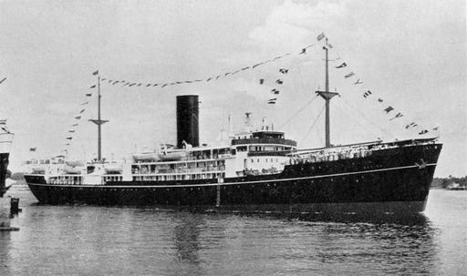 The China Navigation Co, Ltd - MS Anking - 1950 & MS Anshun - 1951