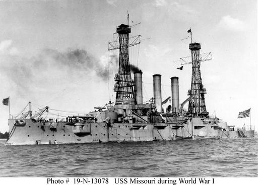 USN Ship Types -- World War I Transports -- Combat Warships employed as Transports