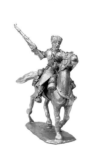 Caucasian Cossack. Russia, 1914-1922; 28 mm