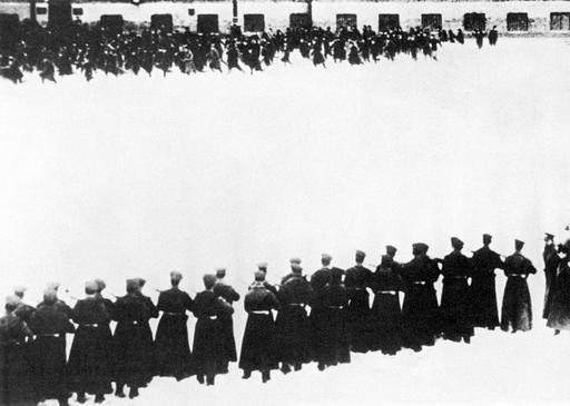 Russia Bloody Sunday, 1905 Painting by Granger
