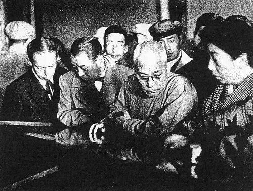 訪中期間の市川猿之助の貴重な写真(1955年)_China.org.cn