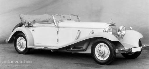 MERCEDES BENZ Typ 500 K Cabriolet B (W29) specs - 1934, 1935, 1936 - autoevolution