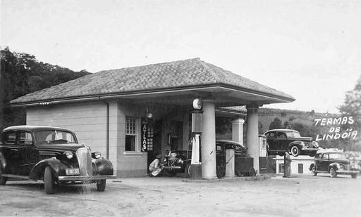 Just A Car Guy: 1930's gas and service station in Brazil