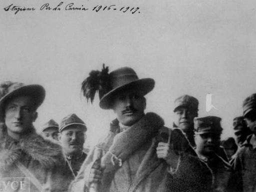 Mussolini sotto le armi 1915-1917 - Corriere.it