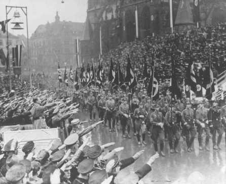 Política exterior alemana, 1933-1945