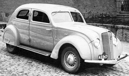 Volvo - Volvo PV36 Carioca (1935-1938)