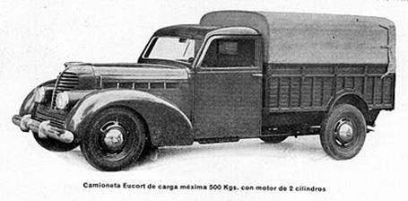 Eucort Camioneta 1947 | Spanish post-war cars |  | Camioneta
