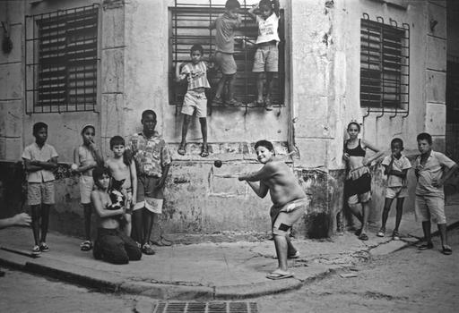 File:Boys Playing Stickball, Havana, Cuba, 1999