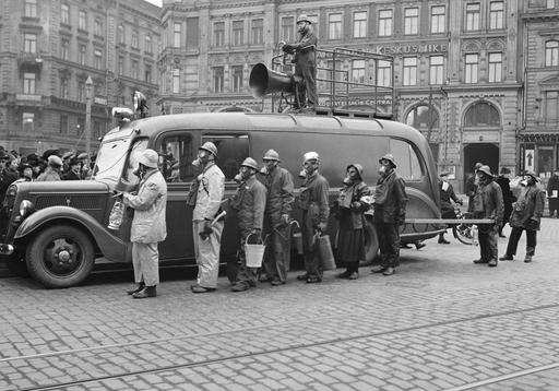 Civil Defense exercise Helsinki 1939. All Things Finnish : Photo photo credit: Finnish Museum of ...