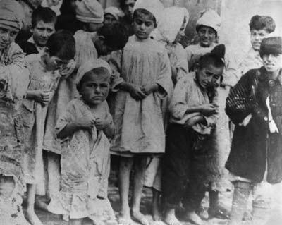 Armenian children victims of genocide...poor babies, they look so scared:( Man's inhumanity to ...