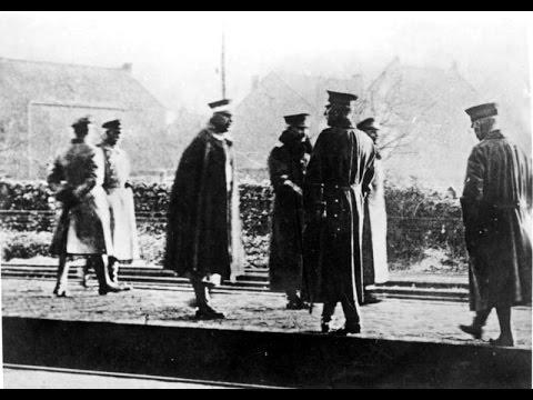 Kaiser Wilhelm II : Escape to The Netherlands (1918) -