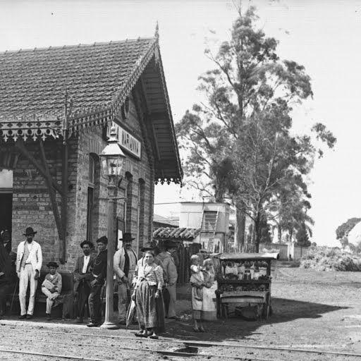 Estação Vila Mariana em Santo Amaro. Fonte: Instituto Cultural Google. | São Paulo, um vilarejo ...