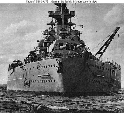 German Navy Ships--Bismarck (1940-1941)