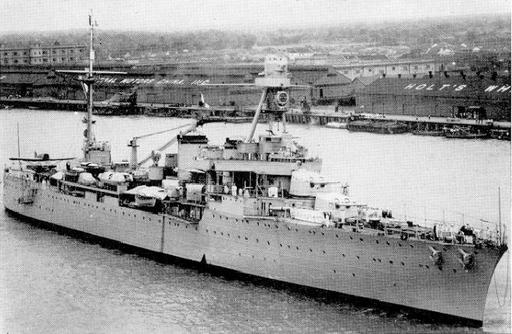 French cruiser Duguay-Trouin