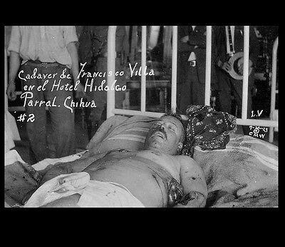 1924 FRANCISCO PANCHO Villa Death PHOTO Mexican Revolution Lying Bed Postmortem - $2.96 | PicClick
