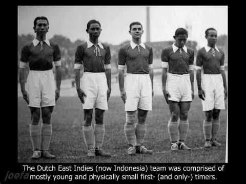 Indonesia (Dutch East Indies) in World Cup 1938, France -