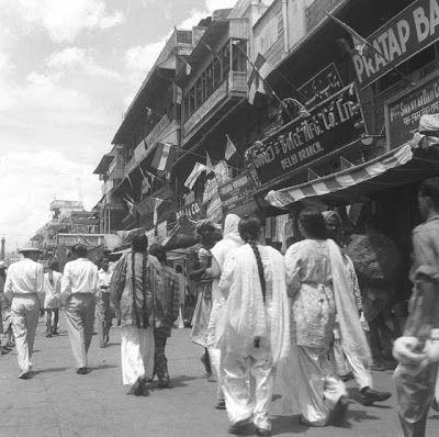 Indian Independence Day Celebration in Delhi - 15 August 1947 | Old Vintage Photos | History of ...