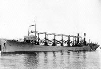 USN Ship Types -- World War I Colliers -- with Specialized Coal Handling Gear