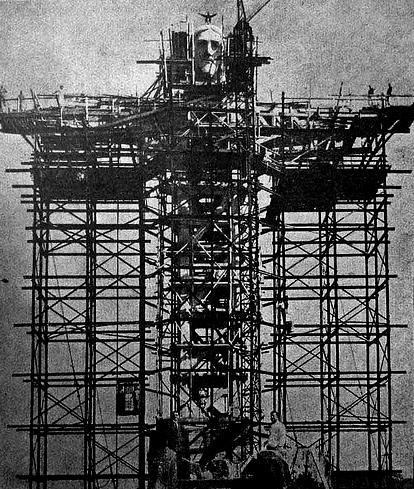 Construction of Christ the Redeemer Statue in Rio de Janeiro, Brazil, 1926 – 1931 | Chief ...