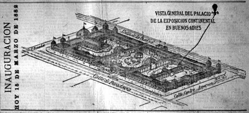 1882 - Buenos Aires, Exposición Continental Sud-Americana | 1872-1935 Latin American Exhibitions