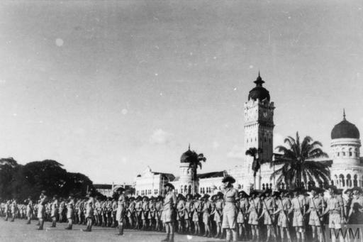 FAR EAST SINGAPORE MALAYA HONG KONG 1939-1945 (KF 265)