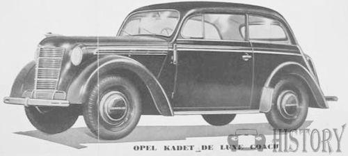Opel - Opel Kadett 1 (1936–1940)