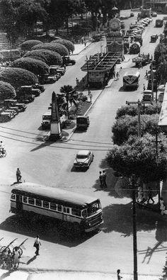 Praça da Matriz. Manaus. Acervo: Moacir Andrade | Manaus Antiga |