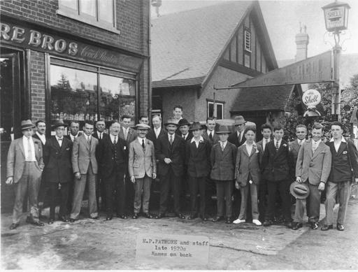 Vitessesteve - blog: Patmore Bros Limited, Loughton Essex - Triumph Car dealers 19a