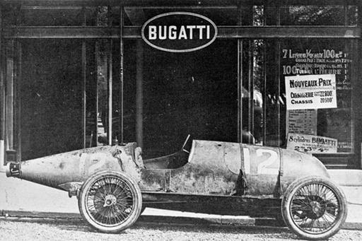 History - Tradition - Bugatti