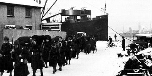 1941 Detail, USA Occupies Iceland - America's Best History U.S. Timeline, 1940-1949