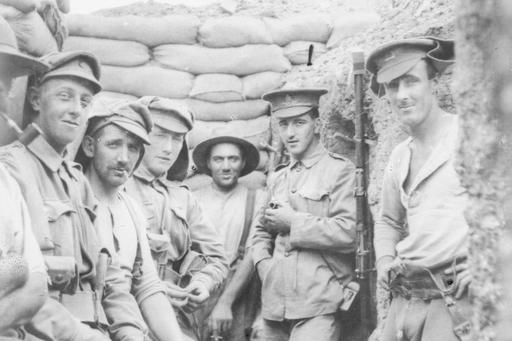 ANZACs in the front line trenches during WWI - ABC News (Australian Broadcasting Corporation)