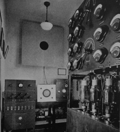 Broadcasting in the 1934-1935 School Year | WBAA