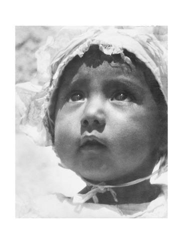 Lupe Rivera Marin, First Daughter of Diego Rivera and Lupe Marin, Mexico City, 1924 Photographic ...