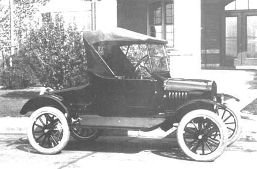 The 1923 Ford Model T Automobiles
