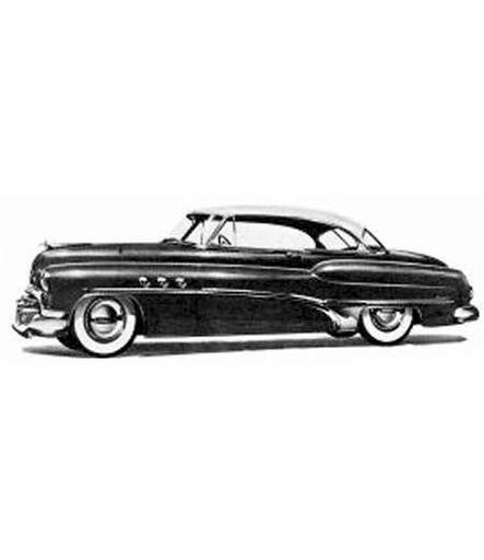 1950 to 1952 Buick Super 56r 2 door (Riveria also) replacement headliner.