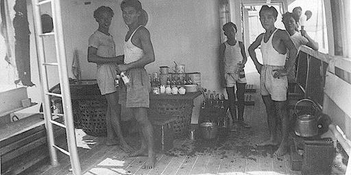 Singapore - Mui Ann Maiden Voyage 1949 - 1950
