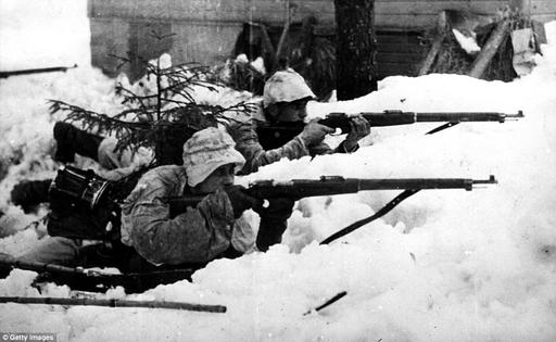 How Finnish farmer became deadliest sniper in history   Daily Mail Online