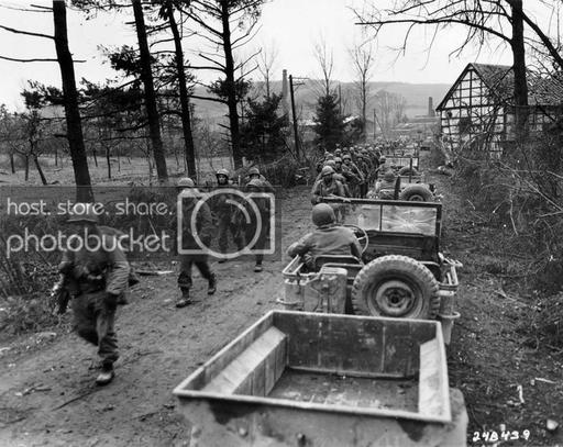 World at War (WWI, WWII, & Civil Wars) Reconnaissance Jeep: First Army, Fourth Cavalry ...