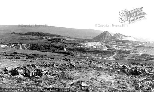 Photo of Wotter, The China Clay Pits c.1955 - Francis Frith