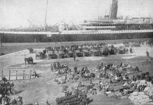 Diary Four - Tel-el Kebir Camp (Egypt) - Marseilles (France): March 1916